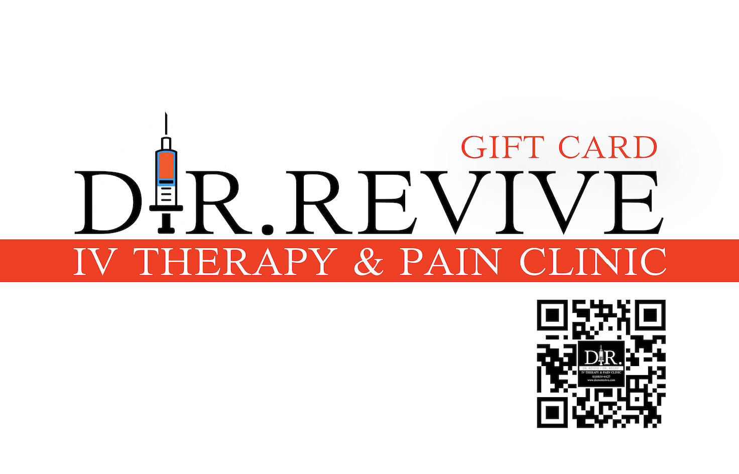 DR. Revive E-Gift card